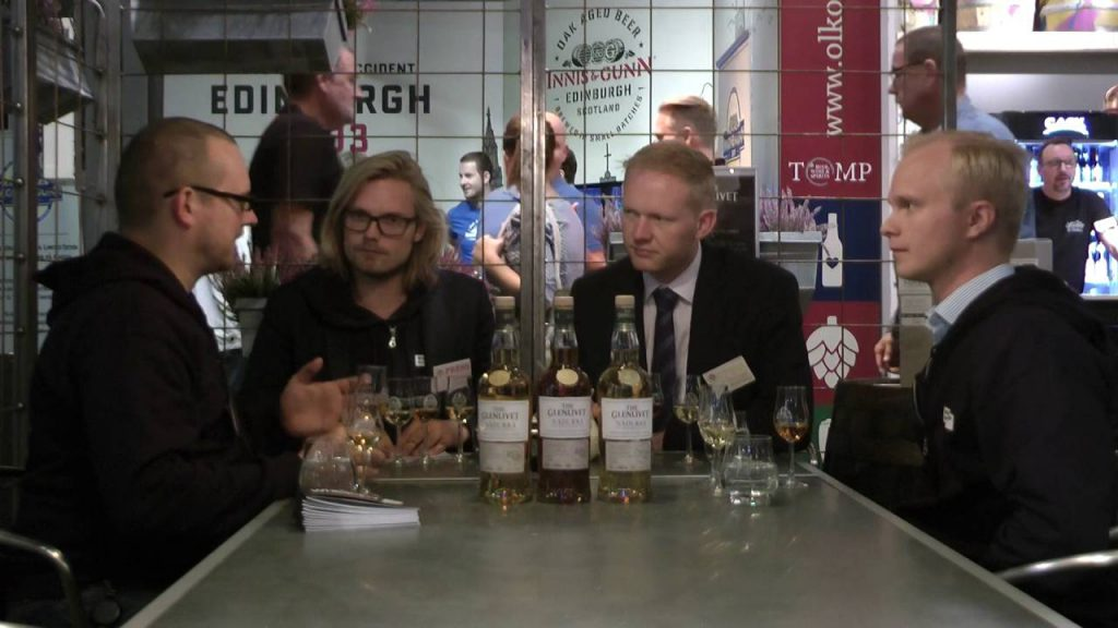 Whiskyplay med Tristan Campell från Glenlivet