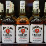 Jim Beam bottles