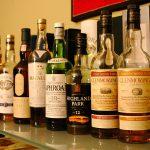 Single malt bottles